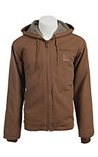 Cowboy Workwear Clay Brown Sherpa Lined Hooded Jacket