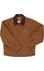 Cowboy Workwear® Clay Brown Sherpa Lined Short Coat