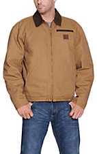 Cowboy Workwear� Men's Tan Fleece Lined Jacket WSSHCTFT