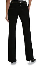 Wrangler® Aura™ Black Regular Rise Ladies Jean