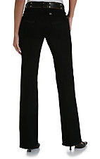 Wrangler® Aura™ Black Short Rise Ladies Jean