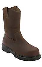 Wolverine® Dark Brown Nolan Slip Resistant Wellington Composite Toe Work Boot