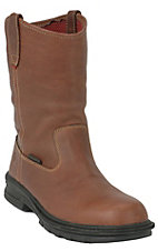 Wolverine® Men's Distressed Brown Waterproof Fusion Pull-On Wellington Boot