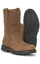 Wolverine® Men's Brown Wellington Work Boots