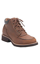 Twisted X Chuck Ups Men's Oiled Saddle Lace Up Chukka Casual Shoes