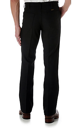 Wrangler Wrancher Black Dress Pants
