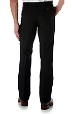 Wrangler Wrancher Black Large Waist Dress Pants