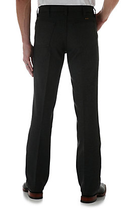 Wrangler Wrancher Men's Heather Black Dress Pants