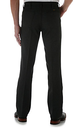 Wrangler Wrancher Men's Heather Black Dress Pants - Big