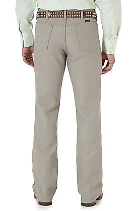 Wrangler Wrancher Tan Dress Pants - Big & Tall