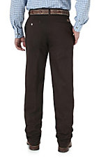 Wrangler Riata Dark Brown Casual Relaxed Fit Pants