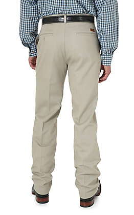 Wrangler Riata Khaki Casual Relaxed Fit Pants
