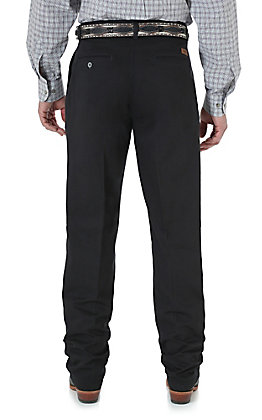 Wrangler Riata Black Casual Relaxed Fit Pants