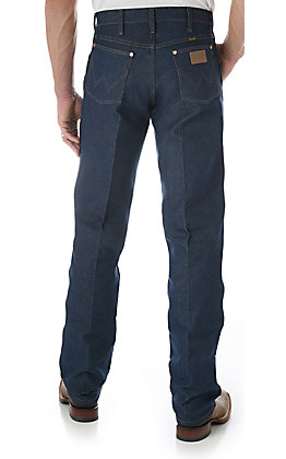 Wrangler Cowboy Cut Rigid Indigo Original Fit Jeans - Tall