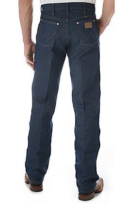 Wrangler Cowboy Cut Rigid Indigo Original Fit Jeans - Big