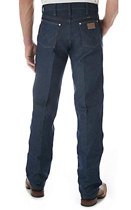Wrangler Men's Rigid Indigo Cowboy Cut Original Fit Jeans - Big