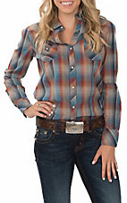 Roper Women's Multi-Color Plaid L/S Western Snap Shirt