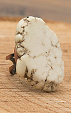 Jewelry Junkie Large White Stone Ring