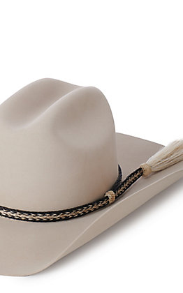 M & F Western Braided Horse Hair Hatband