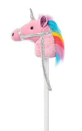 Aurora Giddyup Ponies Pin Unicorn Stick Horse