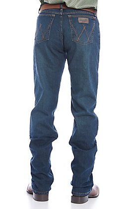 Wrangler 20X Men's Advanced Comfort 02 Competition Dark Wash Slim Fit Boot Cut Jean