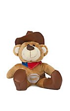 Howdy Cowboy Bear with Texas Bandana