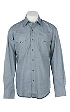 Stetson Men's Grey Medallion Print L/S Western Snap Shirt