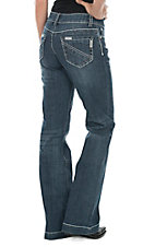 Stetson Women's Medium Wash City Trouser Jean