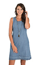 Stetson Women's Sleeveless Denim Dress