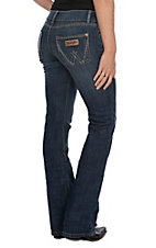 Wrangler Women's Sadie Low Rise Retro Boot Cut Jeans