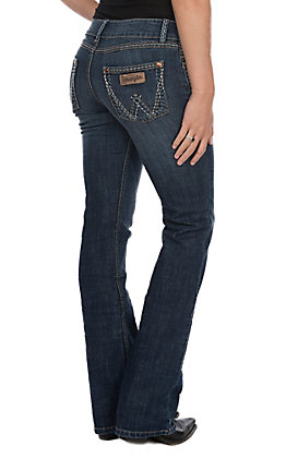 Wrangler Retro Sadie Women's Low Rise Boot Cut Jeans
