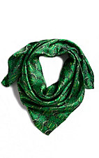 M&F Green Cactus Wild Rags Scarf