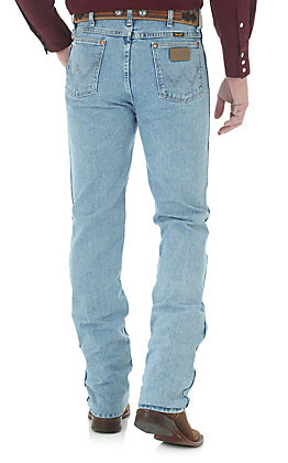 7ae82e34 Wrangler Men's Cowboy Cut Antique Wash Slim Fit Jeans - Big & Tall