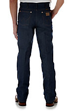 Wrangler Cowboy Cut Rigid Indigo Slim Fit Tall Jeans