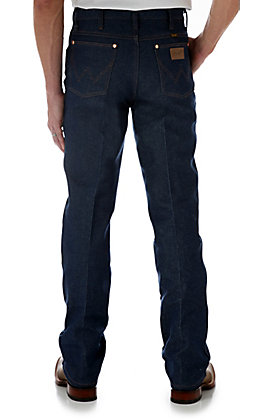 Wrangler Cowboy Cut Rigid Indigo Slim Fit Jeans - Tall