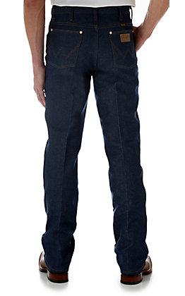 Wrangler Cowboy Cut Rigid Indigo Slim Fit Jeans - Tall