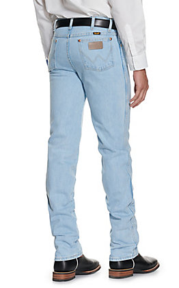 Wrangler Cowboy Cut Bleach Slim Fit Jeans