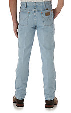 Wrangler Men's Cowboy Cut Bleach Slim Fit Big/Tall Jeans