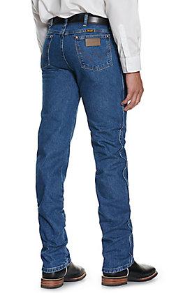 Wrangler Cowboy Cut Stonewash Blue Slim Fit Jeans