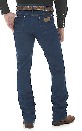 Wrangler Men's Cowboy Cut Prewashed Slim Fit Straight Leg Jean