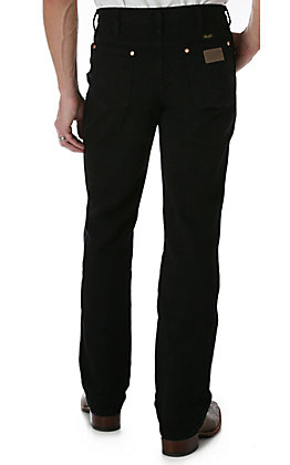 Wrangler Men's Cowboy Cut Black Slim Fit Big & Tall Jeans