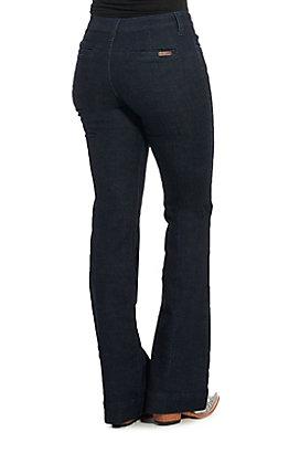 Wrangler Retro Women's Mae Wide Leg Trouser Jeans