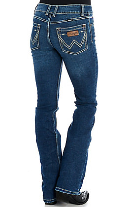 Wrangler Retro Women's Mae Griffin Mid-Rise Boot Cut Jeans