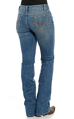 Wrangler Women's Medium Wash Boot Cut Jeans