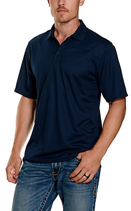 Ariat Men's Navy Heat Series Tek Polo Shirt