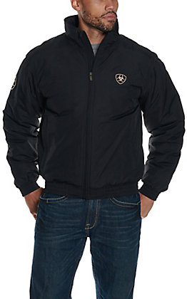 Ariat Men's Black Team Logo Jacket