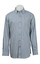 Ariat Work FR Men's Stripe Long Sleeve Flame Resistant Work Shirt