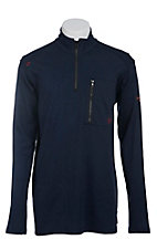 Ariat Men's Navy FR Work 1/4 Zip Pullover