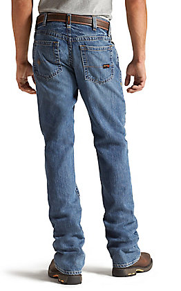 Ariat Work FR Men's M4 Flint Low Rise Boot Cut Flame Resistant Jean