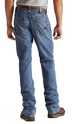 Ariat Work FR Men's M4 Flint Low Rise Boot Cut Flame Resistant Jean - Big & Tall